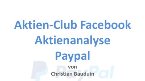 Video Analyse zu Paypal