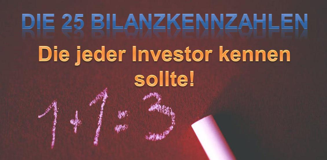 25 Bilanzkennzahlen für Value Investoren. Mit der fundamentalen Aktienanalyse können Value Investoren die Spreu vom Weizen trennen. Hier schauen wir uns die 25 wichtigsten Kennzahlen in der Bilanz eines Unternehmens an.