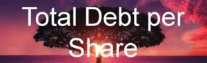 Gesamtverschuldung je Aktie: Bilanzkennzahlen sind von großem Nutzen, um ein Unternehmen zu bewerten. Man kann detaillierte Hinweise auf kritiesche Unternehmensprozesse gewinnen.