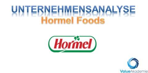 Fundamentalanalyse Hormel Foods