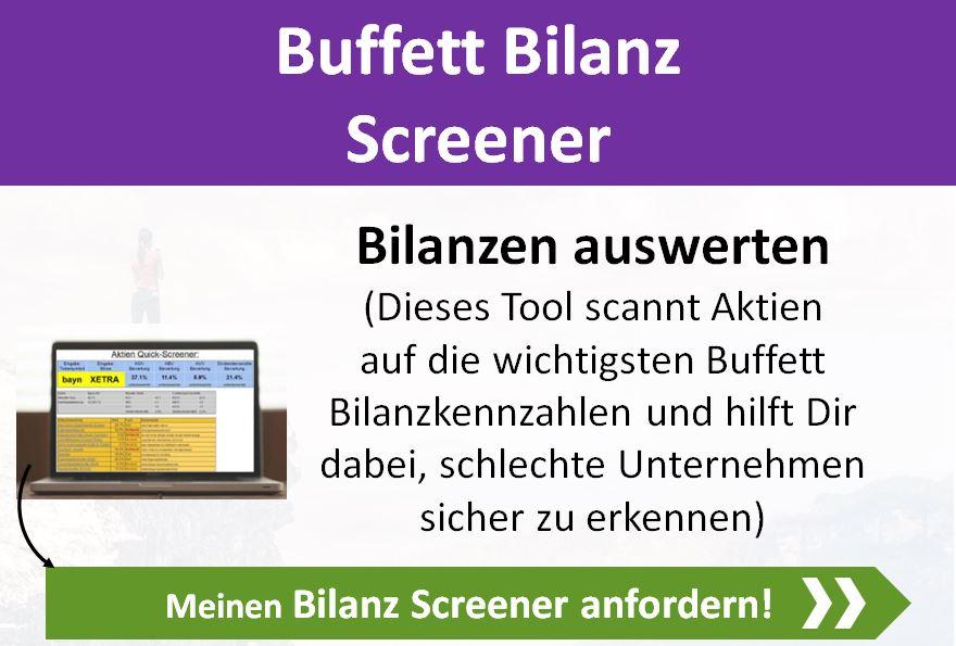 Bilanz Screener