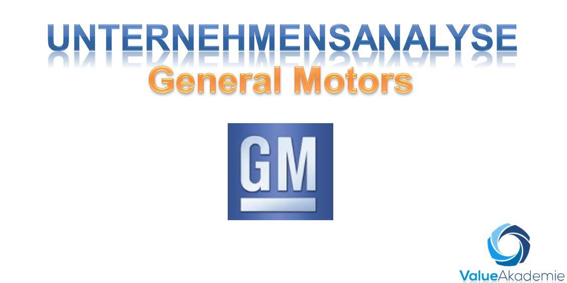 General Motors Fundamentalanalyse