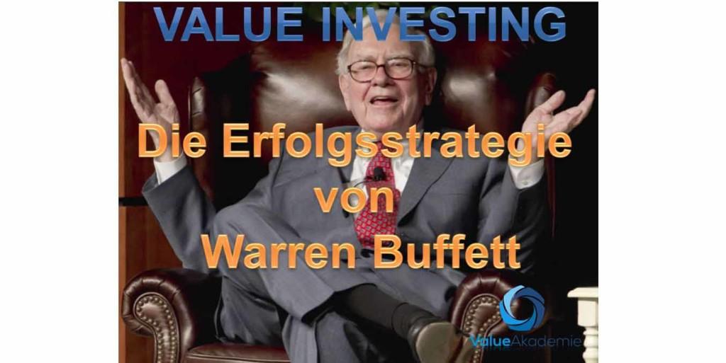 Die Strategie von Warren Buffett und seinem Value Investing unterbewertete Aktien kaufen erklärt für Privatinvestoren. Der Lehrling von Benjamin Graham zeigt uns, dass man an der Börse mit einfachen Regeln viel Geld verdienen kann.