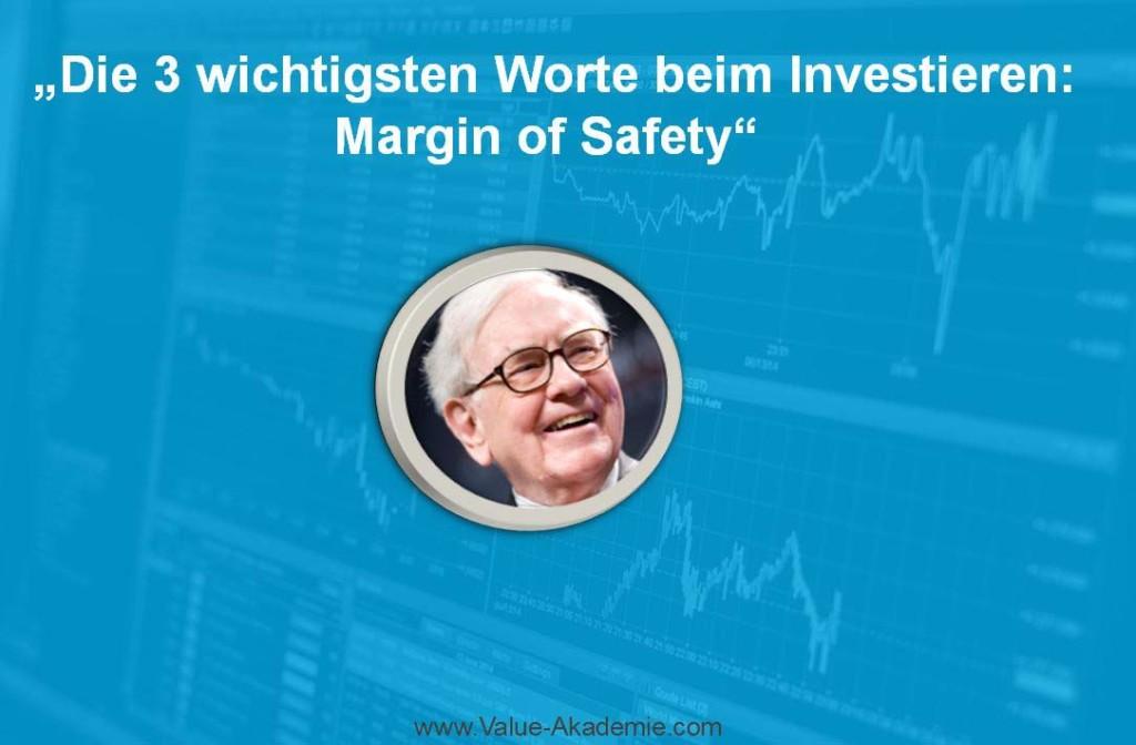 Die Margin of Safety (Sicherheitsmarge) beschreibt ein essenzielles Prinzip des Investierens. In diesem Beitrag zeige ich Dir, wie die Erfindung von Benjamin Graham durch seinen Schüler Warren Buffett und viele Investoren umgesetzt wird.