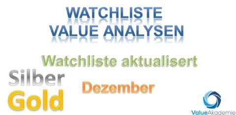 Watchliste Dezember