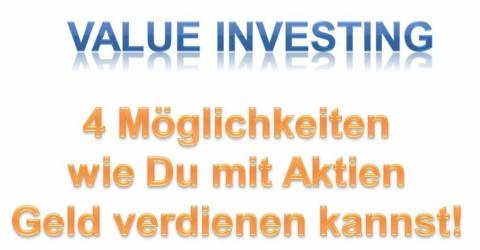 Mit Aktien Geld verdienen? 4 Kriterien für steigende Kurse!