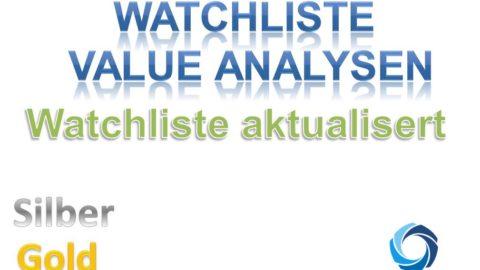 Watchlisten Monat September 2018