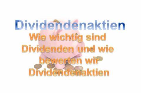 Dividendenaktien finden und richtig bewerten
