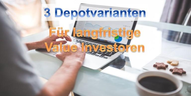 Aktiendepot für Value Investoren