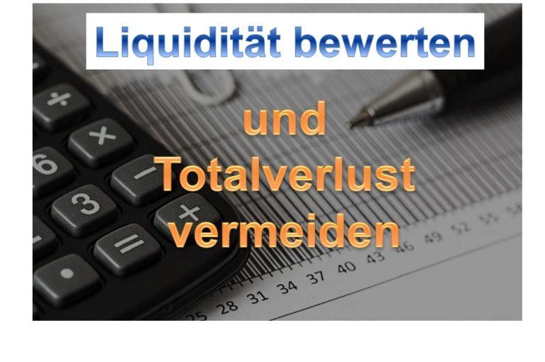 Liquidität bei Aktien bewerten